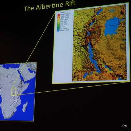Albertine Rift location