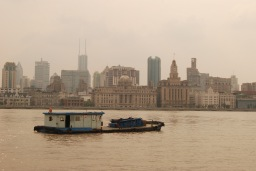 Huangpu River looking toward the Bund