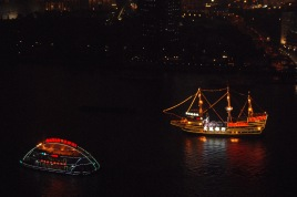 Boats on the Huangpu River, Shanghai