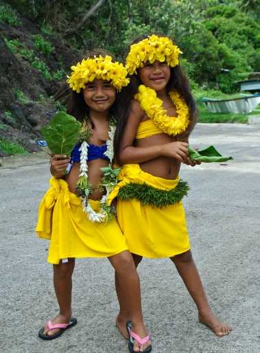 Children on Fatu Hiva