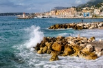 High Tide in Menton