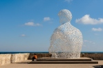 Nomade by Jaume Plensa, 2010, Musee Picasso, Antibes