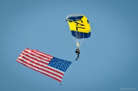 navy Seals and American flag