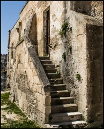Stairs in Matera