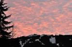 Dawn over Blackcomb Mountain