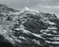 Silberhorn, snowcovered peak just north of Jungfrau