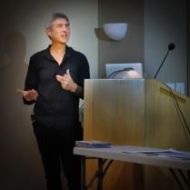 Ken Carl presenting